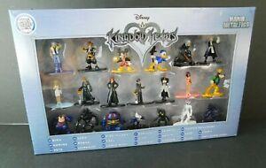 Disney Nano Metalfigs Kingdom Hearts Complete Set Metal Figs New Sealed Deluxe S