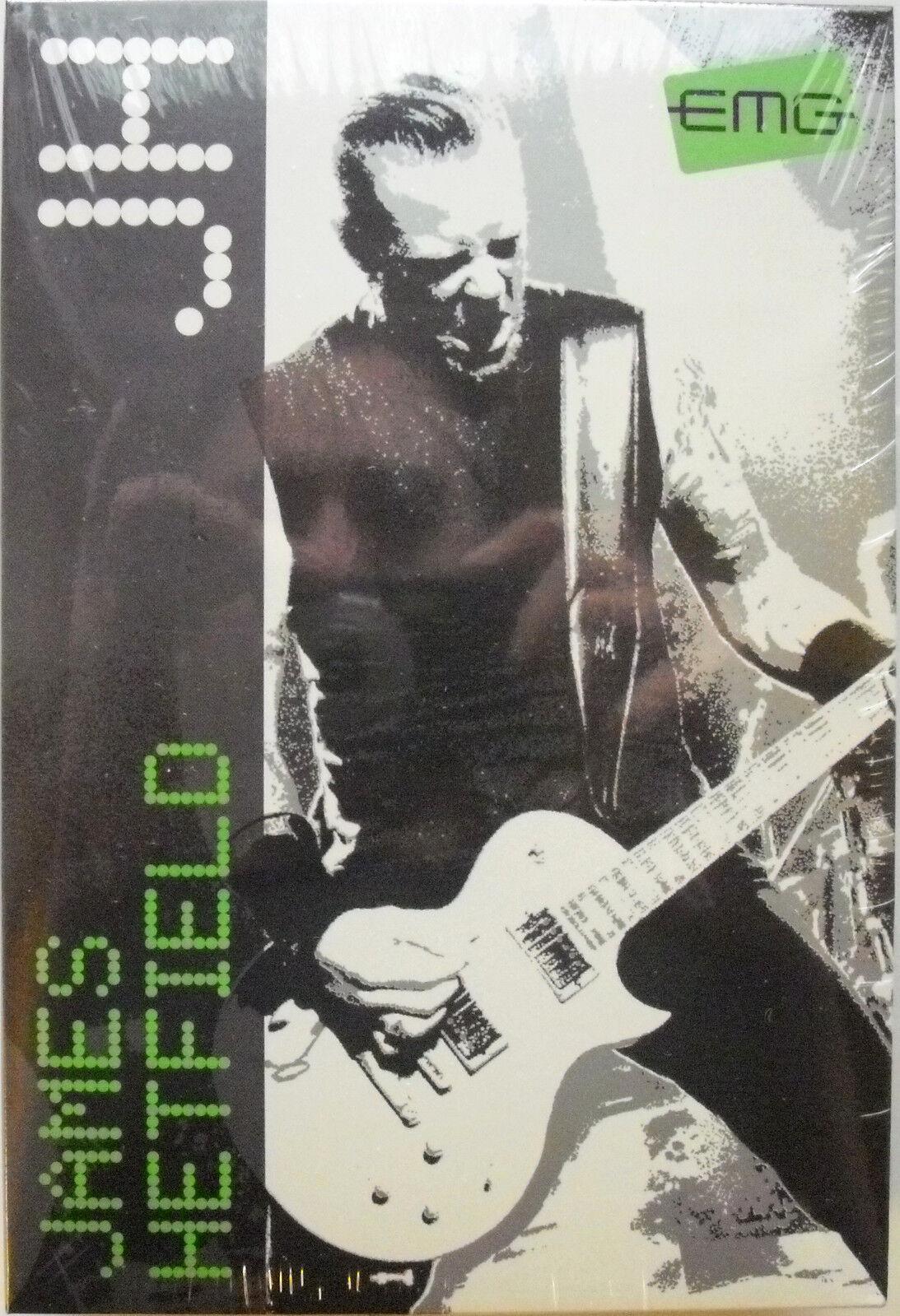EMG James James James Hetfield FIRMA Juego Negro Cromo 3d6998