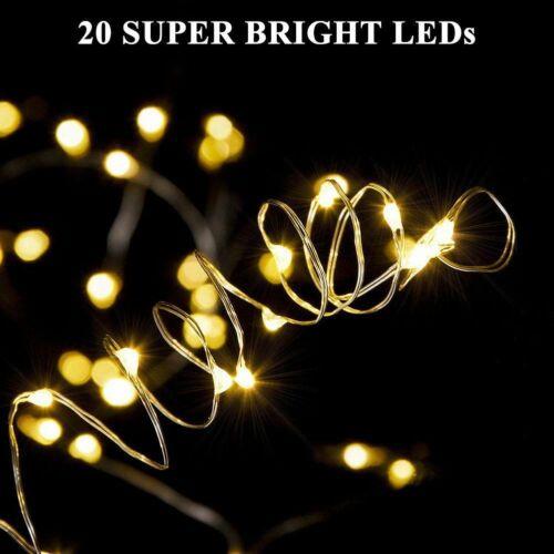 Cork Lights For Wine Bottle Wine Bottle Lights 12 Pack 6.5ft 20 LED Wine Cork