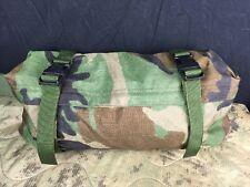 US Military MOLLE II Waist / Butt Pack   Woodland Camo   EUC   8465-01-465-2058