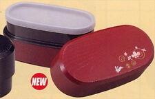 Japanese Hakoya Usagi Lunch Bento Box 2Tiers Red #51533 S-1946