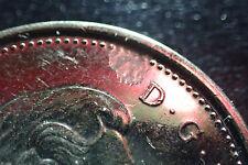 2011 Canada 5 cents Nickel Flaw Planchet High Grade