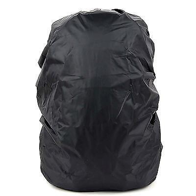 Outdoor Black Nylon Waterproof Rainproof Backpack Bag Cover for Hiking Camping