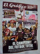LANUS Champion 2016 - El Grafico Magazine + POSTER Argentina Football