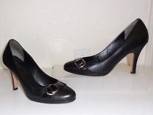 9f88c2c6c70 Details about Cole Haan Black Leather Pumps Size 8 Heels Shoes