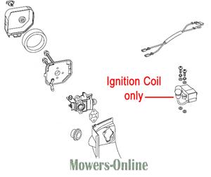 Mountfield Brushcutter Ignition Coil 118802743//0 MHJ2424 HTJ550 Stiga SHP60