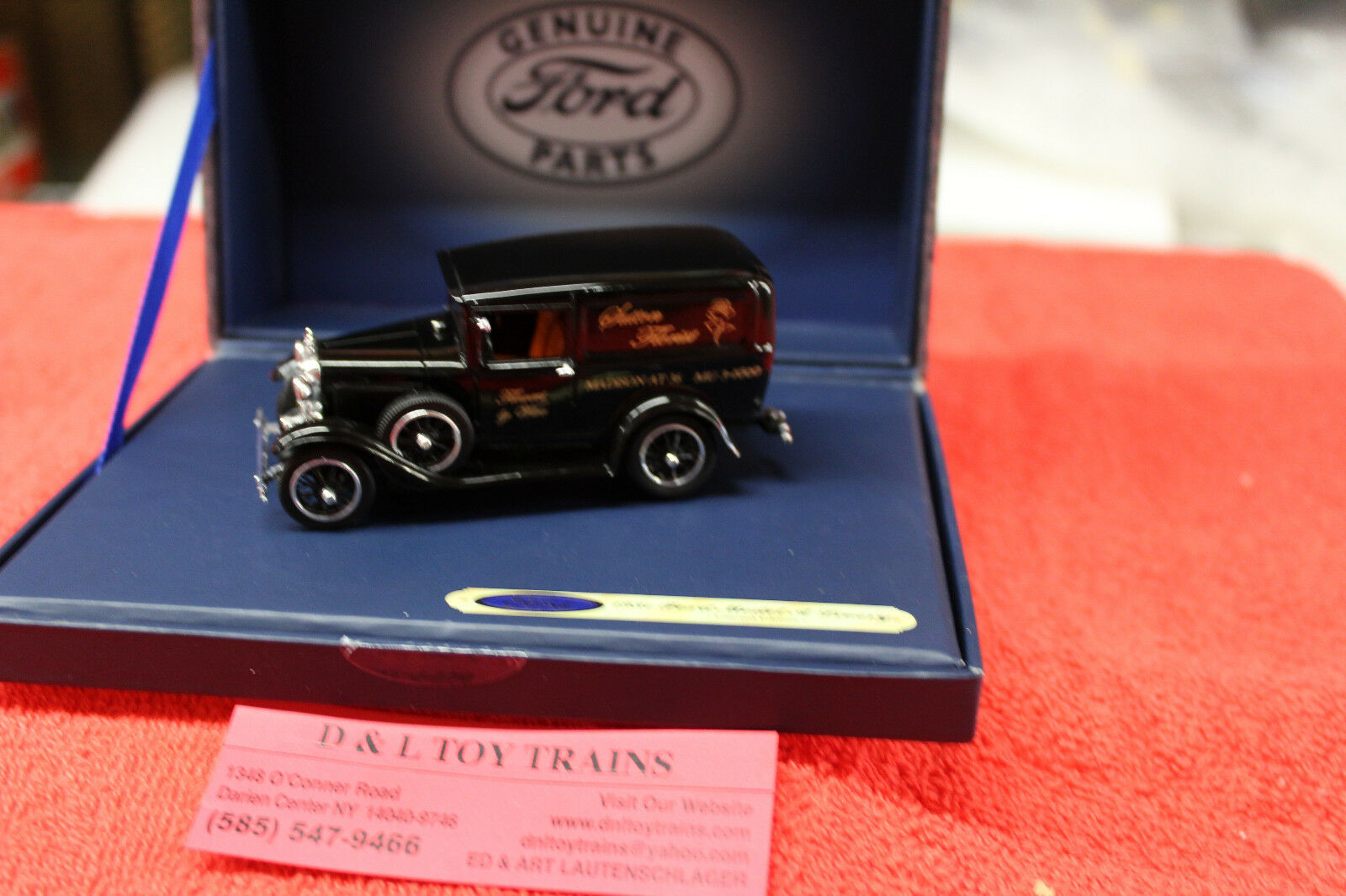 439 1931 Ford Sutton Florist Model A Car  NEW IN BOX