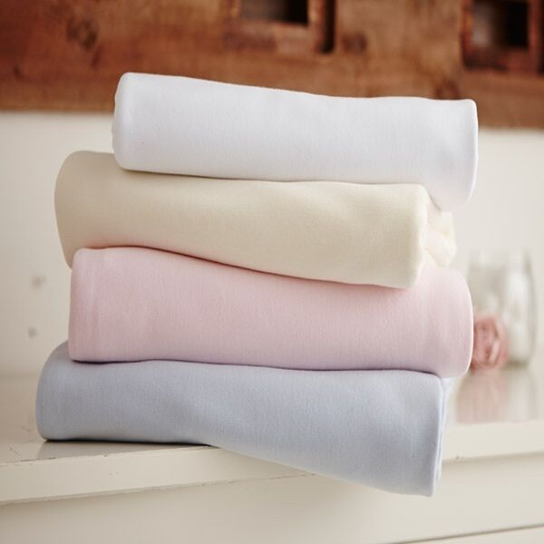 Clair De Lune 100% Jersey Cotton Fitted Baby Sheets   Moses Basket, Cot,