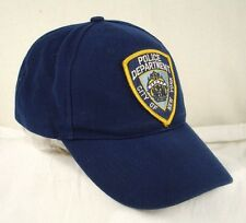 NYPD City New York Police Department Blue Baseball Cap Hat GUC Box Shipped