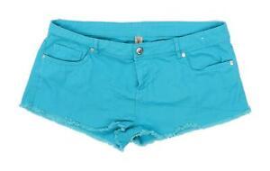 Womens-Denim-Co-Blue-Denim-Shorts-Size-16-L1