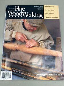 Taunton-Fine-Wood-Working-Magazine-Vintage-August-1995-Home-Building-Hardware
