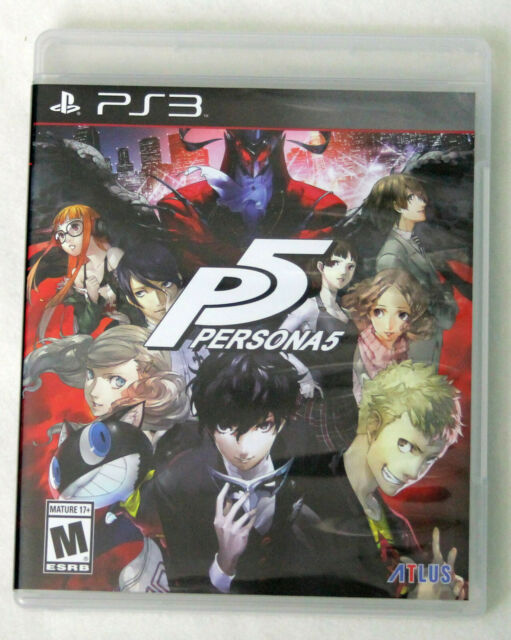 Persona 5 - P5 Sony PlayStation 3 PS3