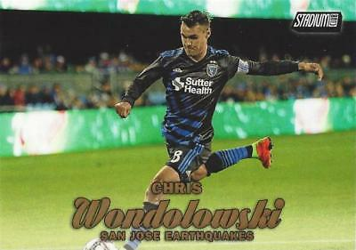 2017 Topps Major League Soccer Common Card Red Parallel #/'d to //10 Including SPs