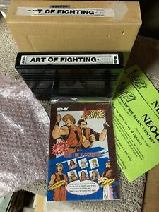 Art Of Fighting With Box Neo Geo Cartridge Mvs Arcade Game Pcb Board Ebay