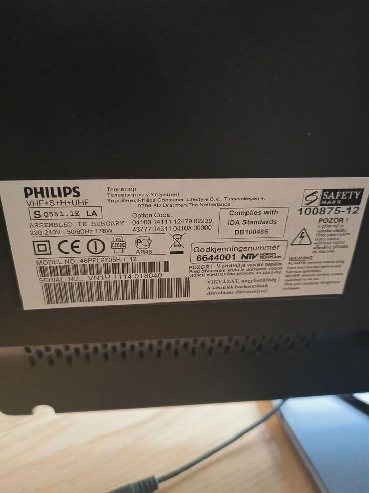 """LED, Philips, 46"""""""