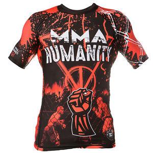 de-neopreno-Camiseta-lycra-MMA-HUMANIDAD-Ideal-Para-Bomberos-MMA-Trainning