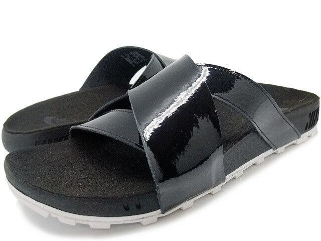 Nikelab Taupo HERREN Premium Slip Zehentrenner Sandalen 849756 001 Schwarz UK-7  | Haben Wir Lob Von Kunden Gewonnen