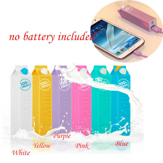 HOT 5V USB Power Bank Case 18650 Battery Charger DIY Box For Phone Mobile CALO
