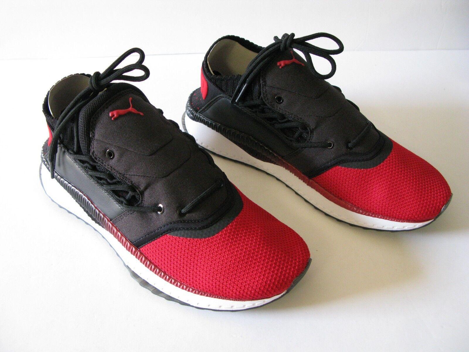 PUMA Tsugi Shinsei Nido Athletic Sneaker Black/Red/White Size-10 New in Box