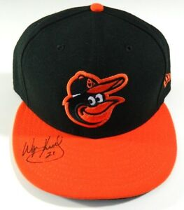 d7cf0b71 ... new zealand image is loading wayne kirby team issued worn baltimore  orioles hat 129a2 58499