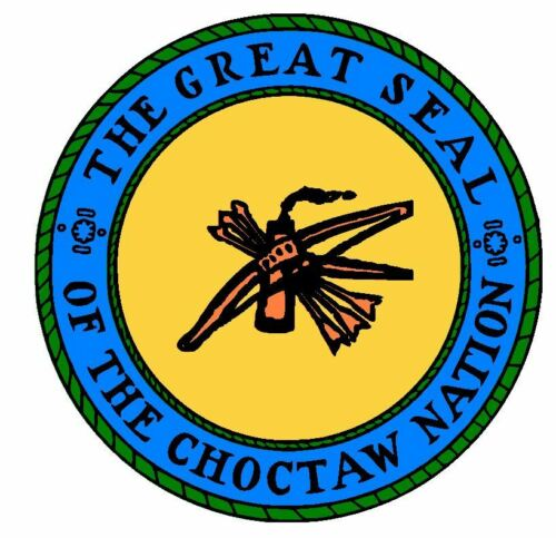Seal of The Choctaw Nation Sticker Decal R732