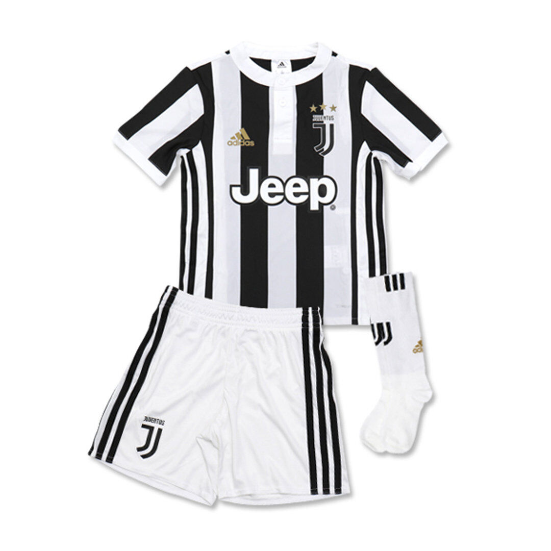 JUVENTUS FC - Mini Kit Home - Kids - Adidas - AZ8702 - 2017 18