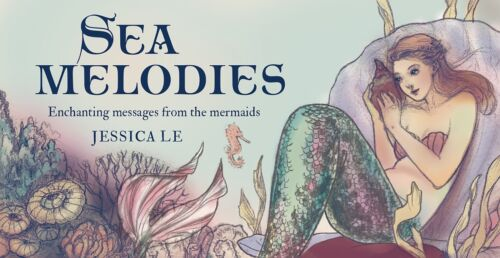 SEA MELODY Mermaid Fortune Telling Sailor Oracle Cards Tarot Card Set