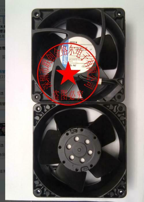 1pcs  Ebmpapst 4650N-466 AC230V 12CM imported equipment fan