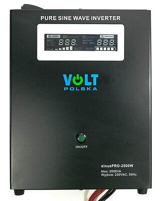 Off Grid Pure Sine Wave Inverter Charger SinusPro 2000W 24V /230V  20A  AVR UPS
