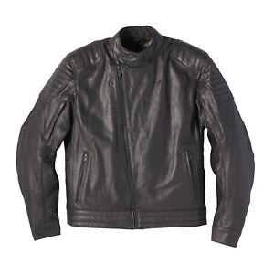 Indian Motorcycle Men's Leather Denton Jacket, Black