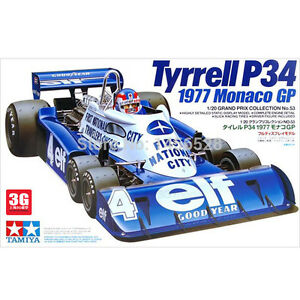New-Tamiya-20053-Tyrrell-P34-1977-Monaco-GP-1-20-scale-kit-Japan