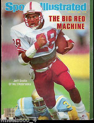 Sports Illustrated 1984 No.1 Nebraska Huskers Jeff Smith NoLabel Excellent