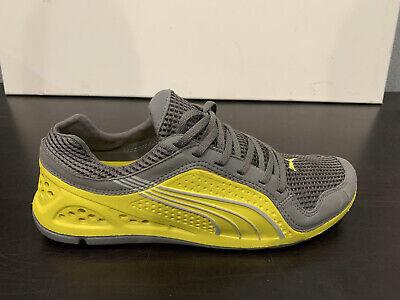 PUMA L.I.F.T. Racer Neon Yellow/Dark Gray Mens Size 12 Brand New ...