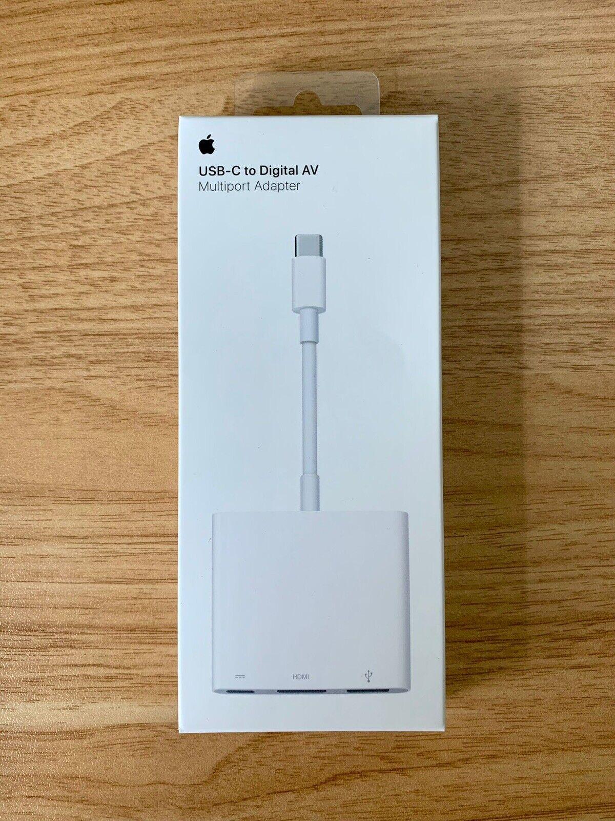 Original Apple USB-C to Digital AV Multiport Adapter - Brand New