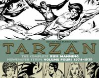 Tarzan: The Complete Russ Manning Newspaper Strips Volume 4 (1974-1979) (the Lib on sale