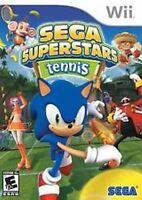 Sega Superstars Tennis Nintendo Wii Game >brand - In Stock - Fast Ship