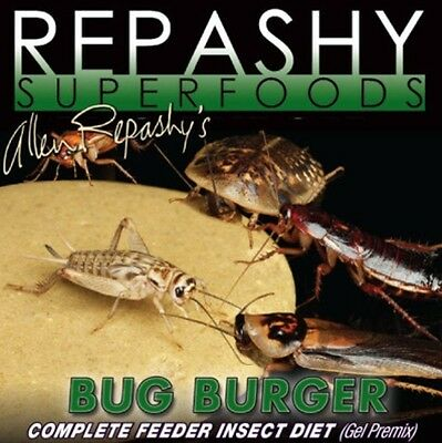 Repashy Superfoods Bug Burger - A Complete Feeder Insect Diet