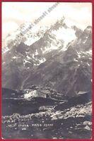 SONDRIO SPLUGA 26 PIZZO FERRÈ viaggiata 1915 Foto GROPPO CAMPODOLCINO MADESIMO