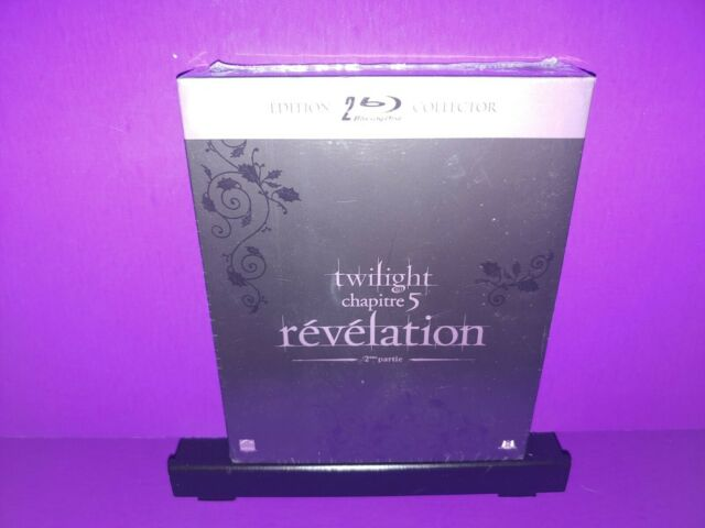 Twilight Chapitre 5 Revelation UK Import Blu Ray Collector's Edition Box Set NEW