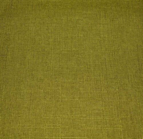 Qh05n Lime Olive Thick Cotton Blend Round Cushion Cover//Pillow Case Custom Size