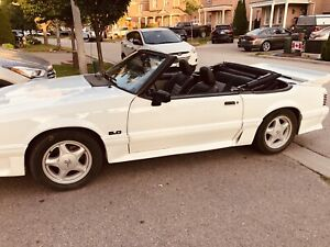 1988 Mustang GT Convertible, Auto ,80000 miles