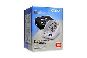 Tensiometro de Brazo Omron M3 Inteligente Deteccion Arritmias Digital Pulsometro