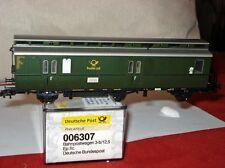 Electrotren 006307 Wagons postaux,Post 3-b/12,5 Deutsche Poste DBP Ep2c/3a #