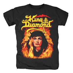 Fatal Portrait T-shirt GroßZüGig King Diamond Kleidung & Accessoires