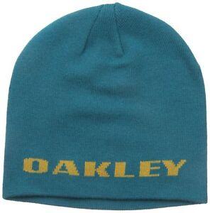 Image is loading Oakley-Men-039-s-Rockslide-Beanie-Aurora-Blue 946825cdb85