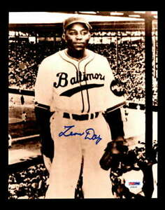 Leon Day PSA DNA Coa Hand Signed 8x10 Photo Autograph