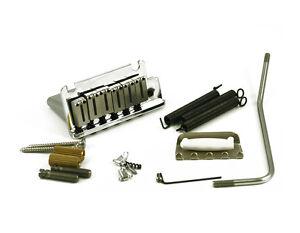 Genuine-Fender-American-Standard-Strat-Tremolo-Bridge-Chrome-099-2050-000