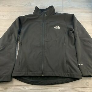 The-North-Face-Black-Polyester-Full-Zip-Mock-Neck-Womens-Jacket-Size-L-G