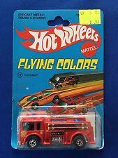 1975 Hot Wheels Fire-Eater #11 Flying Colors Blackwall MOC Nice!