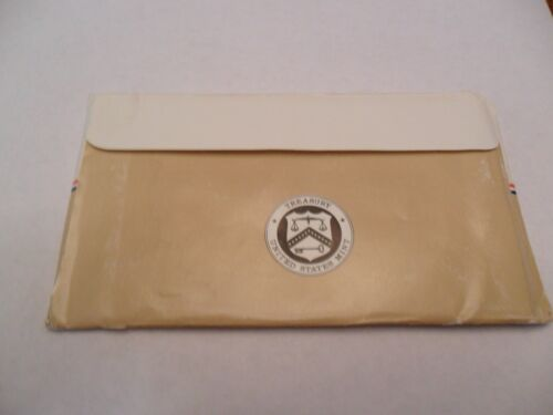 1986 Mint Set Envelope ONLY *NO COINS*  **FREE SHIPPING**